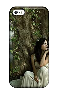 Juliam Beisel Fashion Protective Fantasy Girl Case Cover For Iphone 5/5s