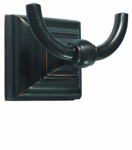 Amerock Double Prong Robe Hook-Oil Rubbed Bronze H-55457-ORB 30%OFF
