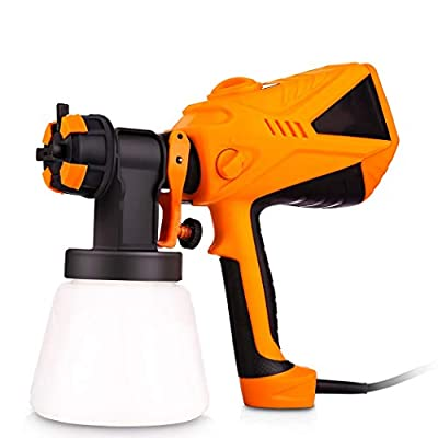 Paint Sprayer 800ml/min Electric Spray Gun with Three Spray Patterns, Three Nozzle Sizes, 6.5ft Power Line
