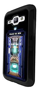 249 - Doctor who Tardis Call Box Travel Machine Design For Samsung Galaxy J1 Fashion Trend CASE Back COVER Plastic&Thin Metal