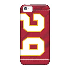 Jamesler Premium Protective Hard Case For Iphone 5c- Nice Design - Kansas City Chiefs by icecream design