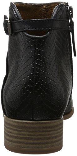 Tamaris 25099, Botines para Mujer Negro (Black Comb 098)