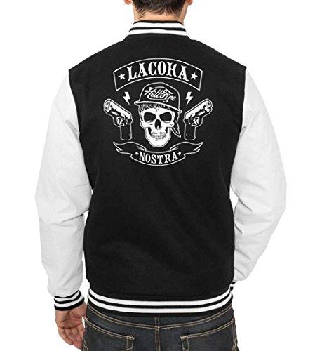 La Coca Nostra College Vest Black Certified Freak