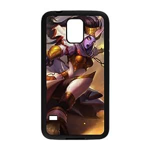 Samsung Galaxy S5 Cell Phone Case Black League of Legends Celestine Soraka UN7375247