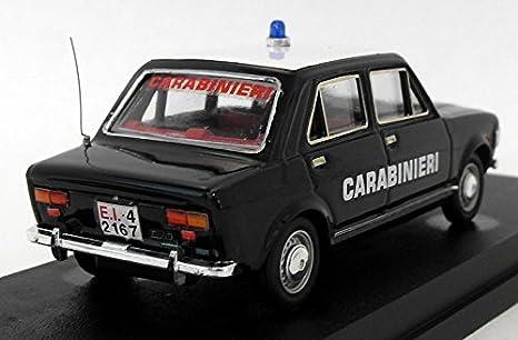 Fiat 128 Carabinieri Rio4166 1:43 Modellino Diecast