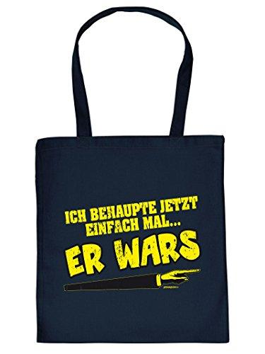 .......ER WARS -Tote Bag Henkeltasche Beutel mit Aufdruck. Tragetasche, Must-have, Stofftasche. Geschenkidee