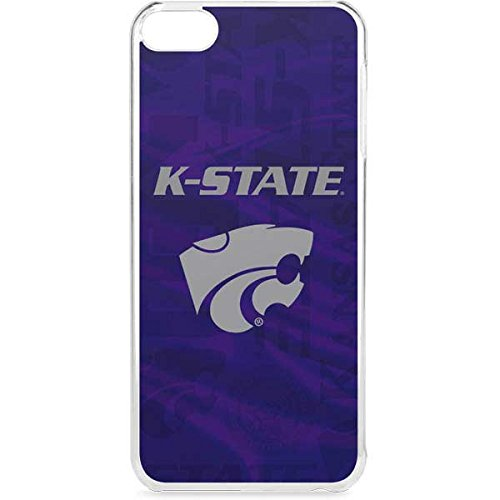 Skinit Kansas State University iPod Touch 6th Gen LeNu Case - Kansas State Wildcats Pattern Design - Premium Vinyl Decal Phone Cover
