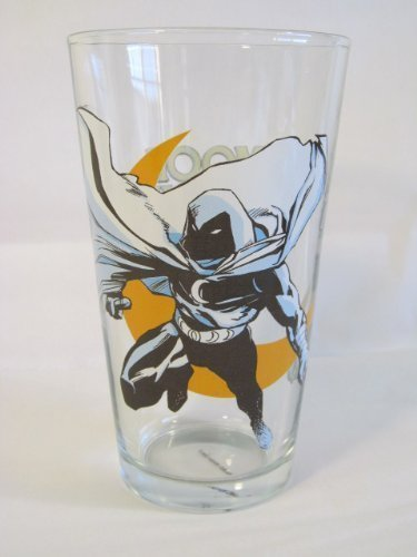 Moon Knight Toon Tumbler 16 Oz. Pint Glass Marvel Comics
