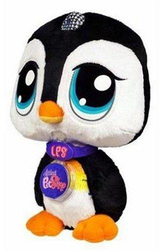 Littlest Pet Shop - NEW - Plüsch VIP PINGUIN - mit ONLINE CODE - NEU