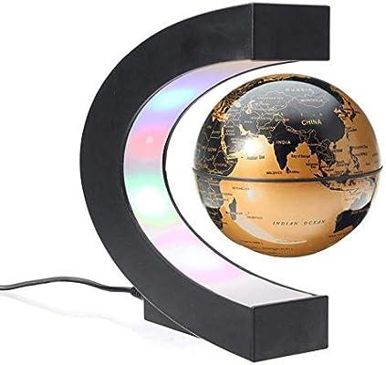 W&HH Globo Flotante con Luces LED, Globo Flotante en Forma de C ...