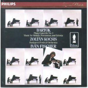 Bartok: Piano Concerto No. 1 / Music for Strings, Percussion & Celesta