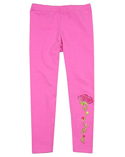Kate Mack Girls' Taking Fight Solid Leggings Pink, Sizes 4-12 - 8