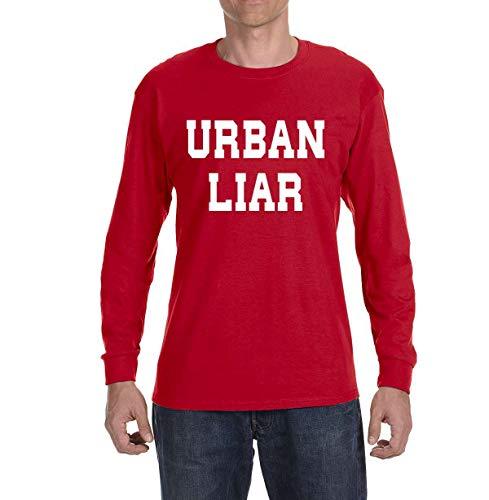 Tobin Clothing RED Urban Liar Long Sleeve Shirt Youth Large