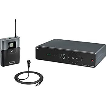 sennheiser xsw 12 a xs wireless lavalier system sk 20 me2 and em 10 receiver a. Black Bedroom Furniture Sets. Home Design Ideas