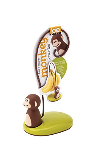 Joie Monkey Banana Tree Holder Hanger, 5.75-Inches (Monkey Bananas)