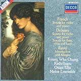 Debussy: Sonata for Flute, Viola & Harp / Franck: Sonata for Violin & Piano / Ravel: Introduction & Allegro