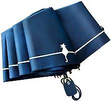 折り畳み傘 軽量 晴雨兼用 耐風構造 UPF50+ UVカット 100遮光 遮熱 超撥水 高耐久度 97cm広さ 8本傘骨 ナノ 折り畳み傘 ケース 収納ポーチ付き