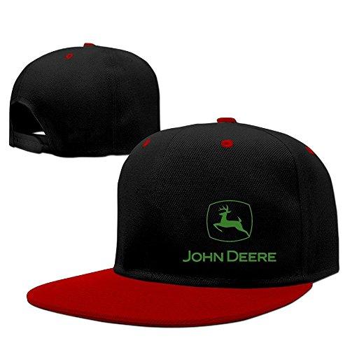 Price comparison product image Custom Unisex-Adult Green Deer Snapback Hit Hip Hop Baseball Cap Visor Cap Red