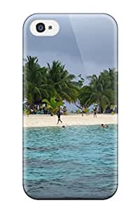 Iphone Cover Case - Kalanggaman Island Protective Case Compatibel With Iphone 4/4s 8653699K85654091