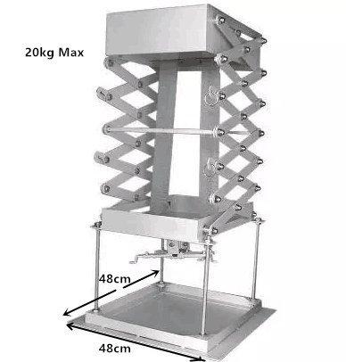 CGOLDENWALL - Soporte para proyector eléctrico de 70 cm con ...