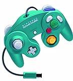 Nintendo GameCube dedicated controller emerald blue