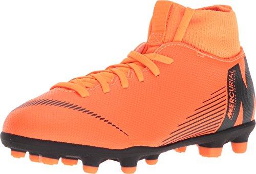 Nike Kids Mercurial Superfly 6 Club MG Cleat (2) (Orange Nike Kids Shoes For)