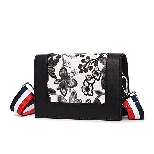 Sacchetto di estate, zaino obliquo delle spalle delle signore, mini borsette semplici semplici, pacchetto catena