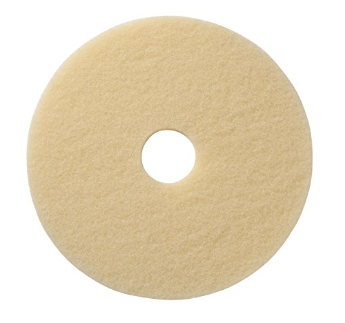 Americo Manufacturing 401520 Image-Beige Ultra High Speed Synthetic Fiber Burnishing Floor Pad (5 Pack), 20