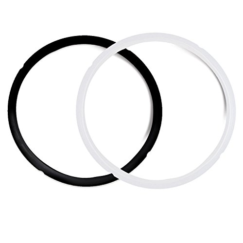 - Pack of 2 Silicone Sealing Rings for 5 & 6 Quart - Fits IP-DUO60, IP-LUX60, IP-DUO50, IP-LUX50, Smart-60, IP-CSG60 and IP-CSG50