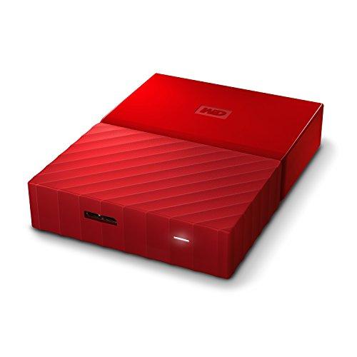 wd 4tb red my passport portable external hard drive usb. Black Bedroom Furniture Sets. Home Design Ideas