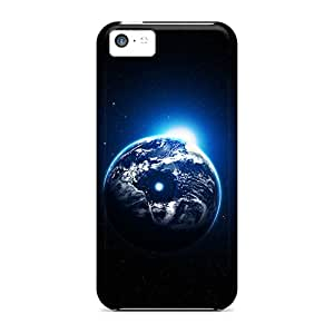 High Quality Shock Absorbing Cases For Iphone 5c-grapich Space Planet