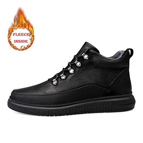Uomo Uomo Boot Convenzionale Convenzionale Color Black Xujw Classic Stivali Optional 43 Pile High Stivaletti Fashion 2018 Top da shoes da Uomo all'Interno Lavoro da Winter Dimensione EU Warm Nero Suola Soft Casual in 1tg6xtqSAW
