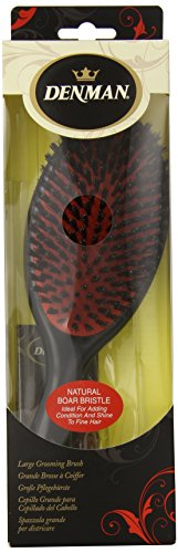 Denman Natural Bristle Grooming Brush, Large D82L