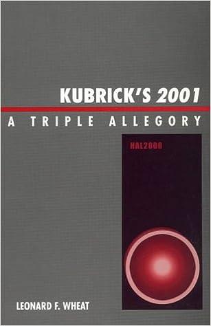 Kubricks 2001: A Triple Allegory