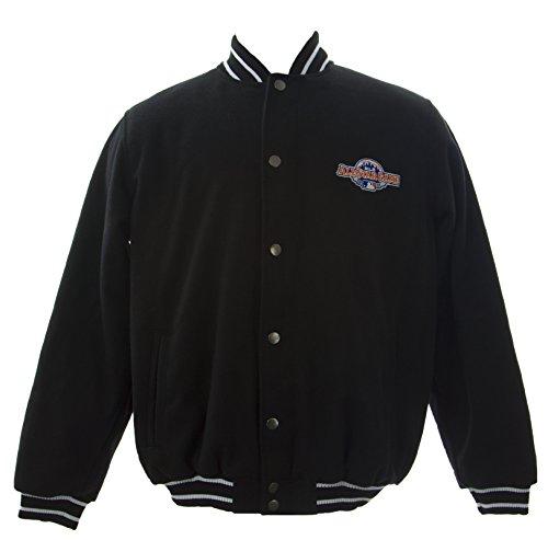 GIII Men's 2013 MLB All Star Game Varsity Jacket Sz Medium Black (Jackets Varsity Mlb)