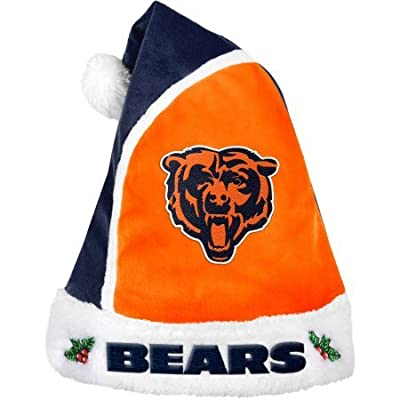 Forever Collectibles NFL 2015 Santa Hat Chicago Bears