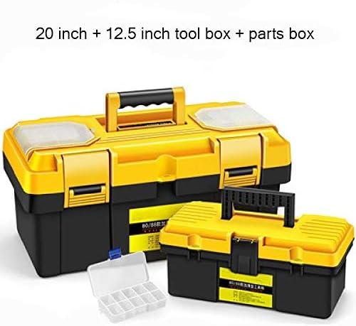 Caja herramientas Caja De Herramientas Portátil Grande De Plástico ...