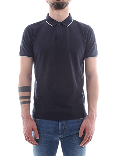 Navy Wopolo505 Monterey m Woolrich Pp02 Uomo Polo TYtx4q1