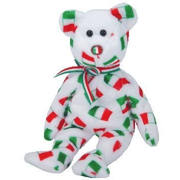 Ty Beanie Babies Pippo - Bear (Italy Exclusive) - Exclusive Ty Beanie