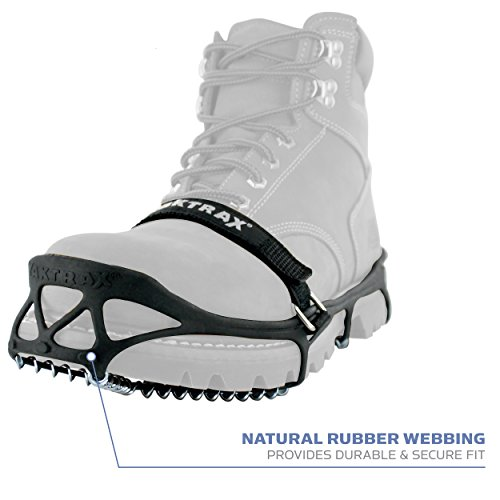 YAKTRAX - Chaines chaussures - PRO Noir