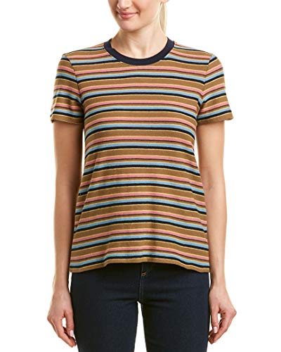 James Perse Womens Vintage Boy T-Shirt, 2, Blue ()