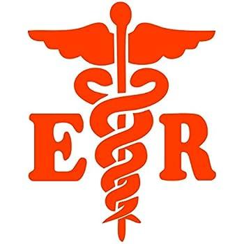 Dixies Decals Caduceus Registered Nurse