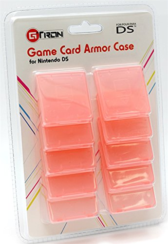 Gtron Game Card Armor Case For NDS Nintendo DS (Pack of 10) - Nintendo DS; - Nintendo Ds Armor