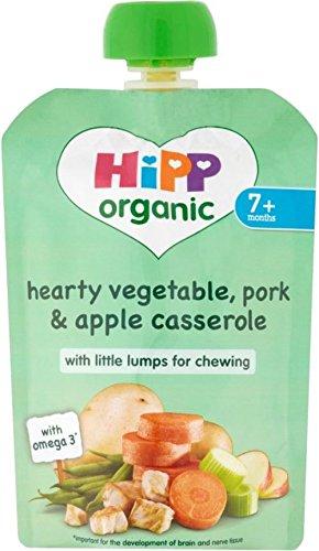 Hipp Organic Hearty Vegetable Pork & Apple Casserole 7mth+ (130g)