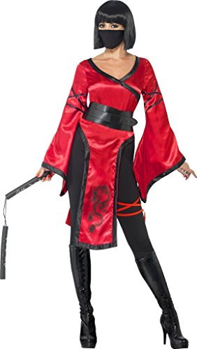 Mujer Guerrero En La Sombra Ninja Disfraz Halloween Talla ...