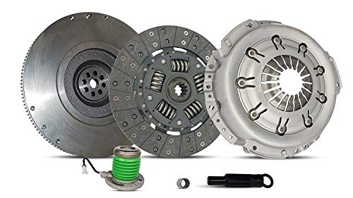 Clutch With Flywheel Kit works with Ford Mustang Base Lujo Coupe Convertible 2005-2010 4.0L V6 GAS SOHC Naturally Aspirated