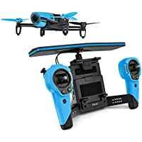 Parrot Blue Bebop with SkyController Dual Band WiFi RC Drone
