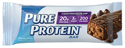 Pure Protein Chewy Chocolate Chip, 50 gram, 6 count (Pack of 2)