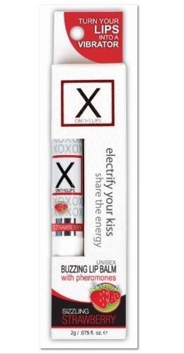 Sensuva - X sur les lèvres - baume à lèvres goût fraise