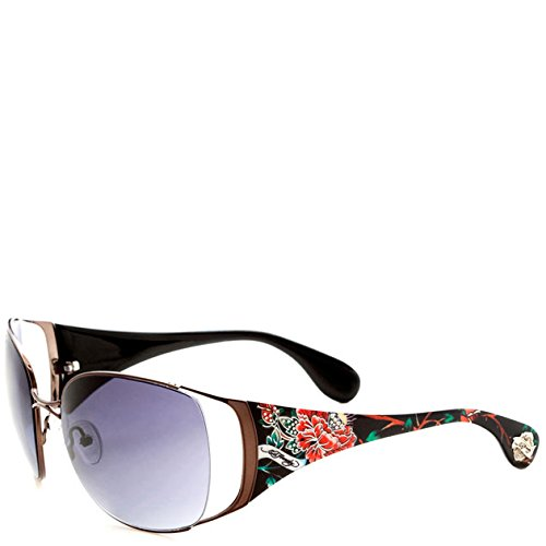 - Ed Hardy Mum Lola Sunglasses - Black